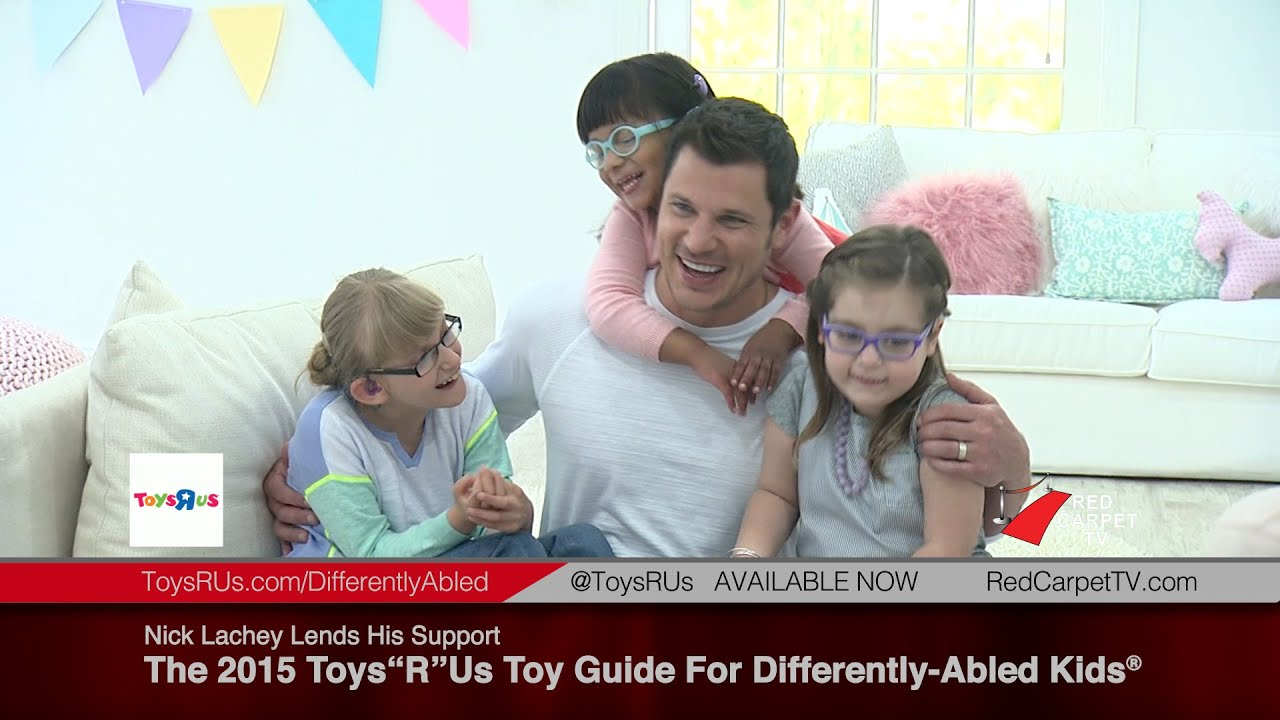 Nick Lachey Offers His Support To 2015 Toys R Us Toy Guide