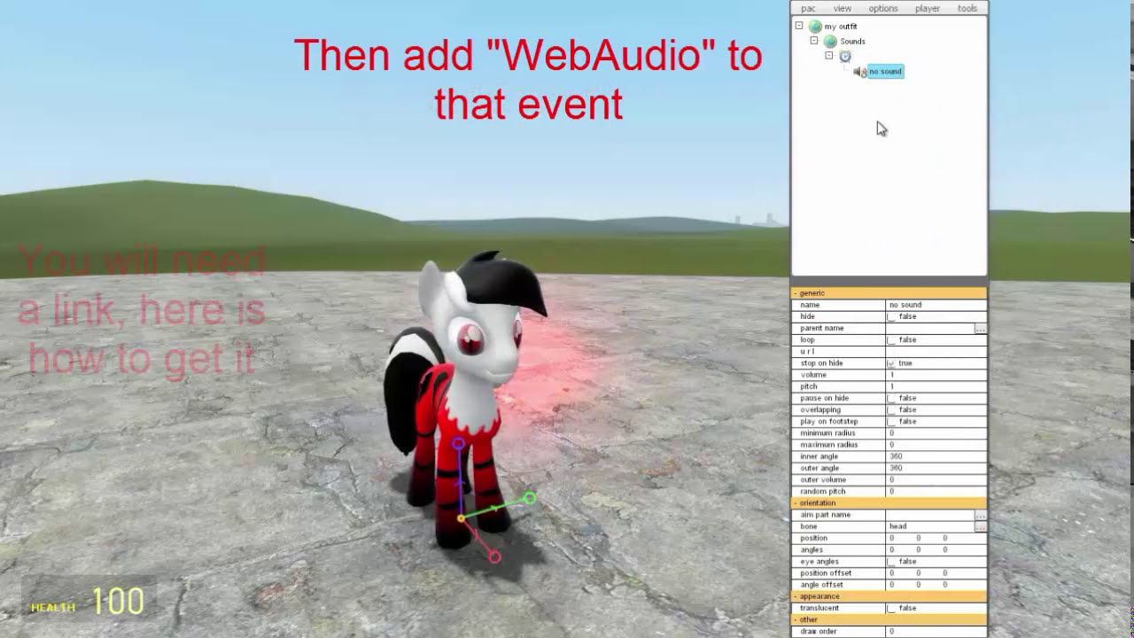 [Pony] Pac3 Tutorial #2 - Sounds/Events [Hd]  Oblivious 01:29 HD