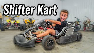 Shifter Kart Race INSIDE Our Shop!!