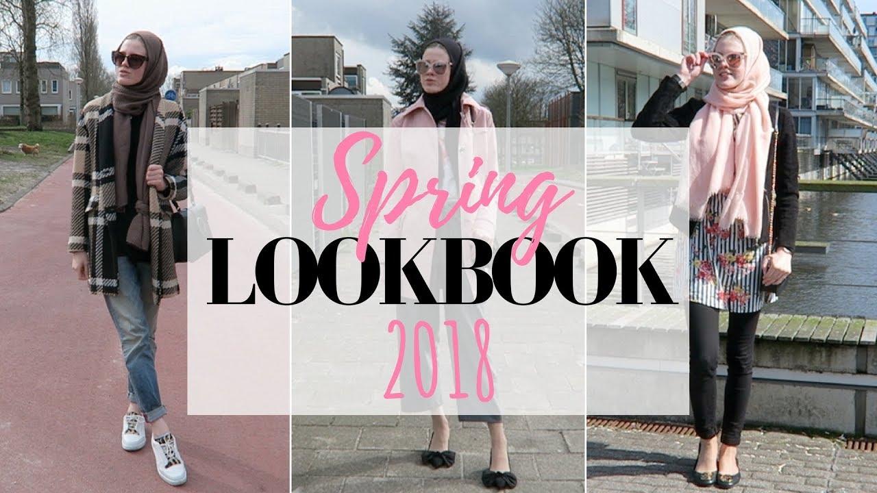 [VIDEO] - Modest spring lookbook 2018 4
