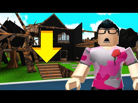 This House BURNED DOWN.. What's Under Will SCARE You.. (Roblox)