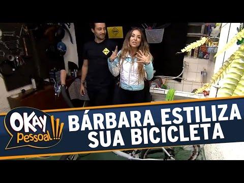 Okay Pessoal!!! (05/07/16) - Bárbara Koboldt vai conhecer um estilizador de bicicletas