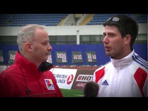 Flash Interviews 2012 -- Shanghai Day 4 -- Archery World Cup : Stage 1