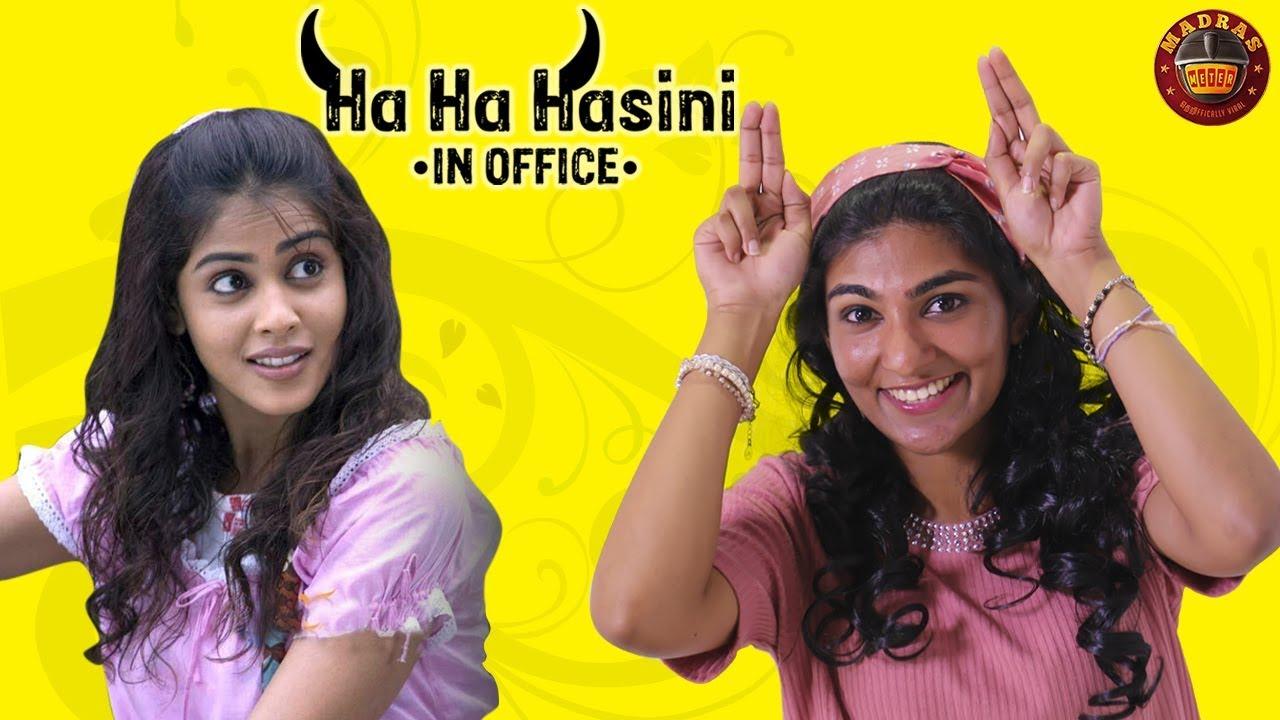 When You Are Ha Ha Hasini In Office Ft. Bunny | Jayam Ravi | Genelia | Madras Meter