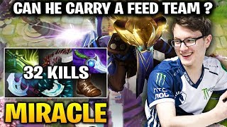 Miracle Riki - When you are the Only man In Team that Didn