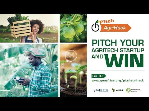 Pitch AgriHack 2021 Promo
