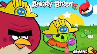 Angry Birds: Angry Birds Chrome Play The Big Set Up Walkthrough - Angry Birds Beta