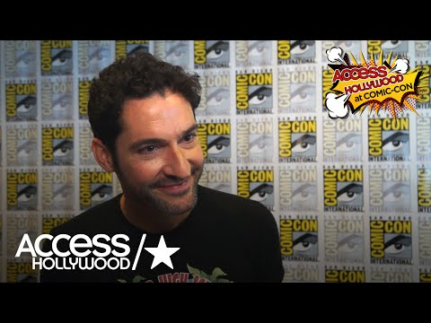 'Lucifer' At Comic-Con: Tom Ellis Discusses Tom Welling Joining The Show | Access Hollywood