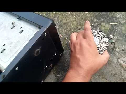 How to clean Motherboard Computer fan