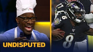 Lamar Jackson and the Ravens gave the Patriots a 'wake up call' - Shannon Sharpe | NFL | UNDISPUTED