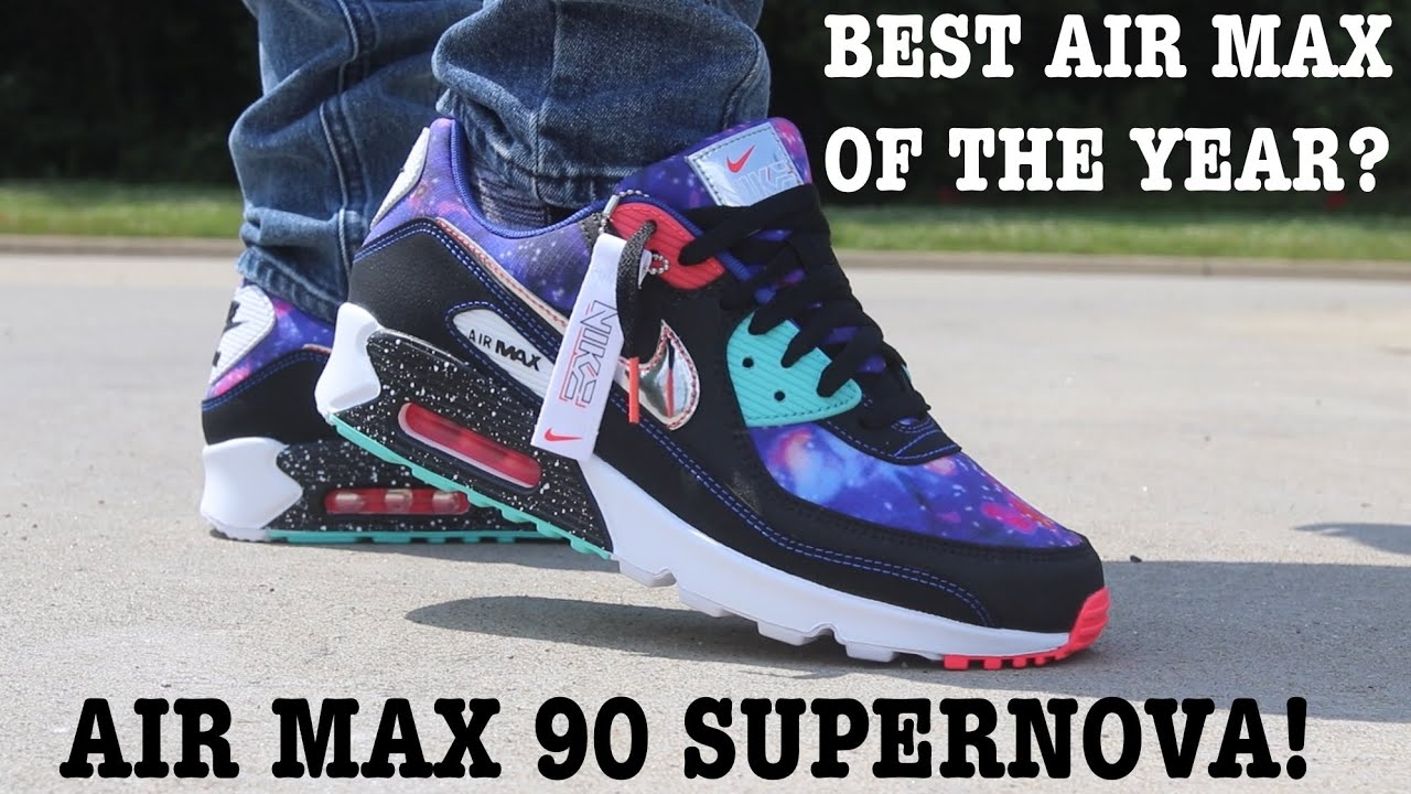 air max 90 supernova on feet