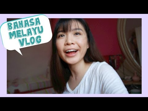 This vlog is in Bahasa Melayu (as you've requested)