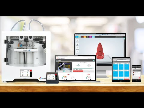 AstroPrint 3D Printer Management Platform