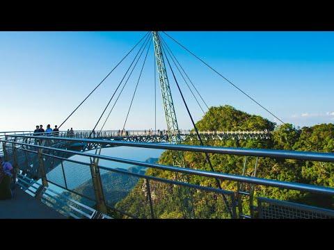 Amazing SKY BRIDGE   Langkawi Sky Bridge, Malaysia - Travel GUIDE   2018  AMAZING VIDEO