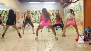 Booty Shake. PERFORMANCE studio. Группа новичков, танец попой