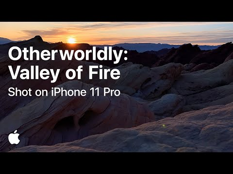 A journey into the Valley of Fire  Shot on iPhone