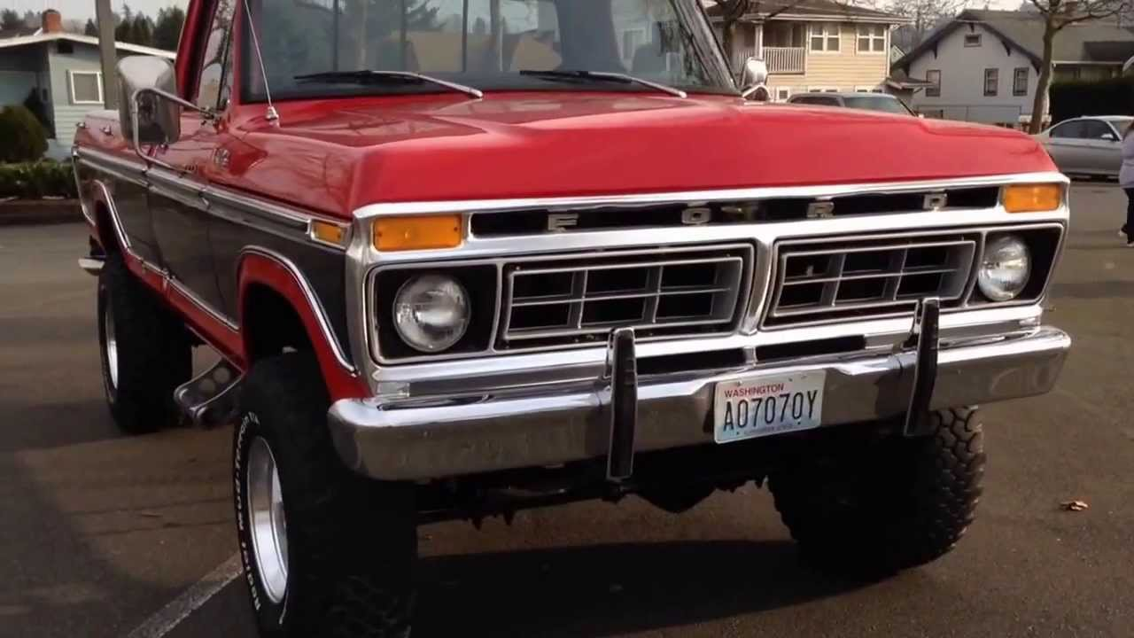 1977 ford f250 Ranger - YouTube