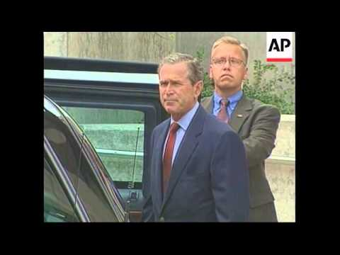 Bush Leaves White House For Medical Check Before Vacation.