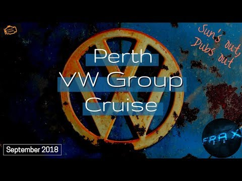 Perth VW Group Cruise - Sun's out, Dubs out