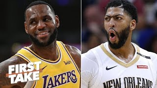 Download Anthony Davis will be the best teammate LeBron ever had – Max Kellerman | First Take Mp3 and Videos
