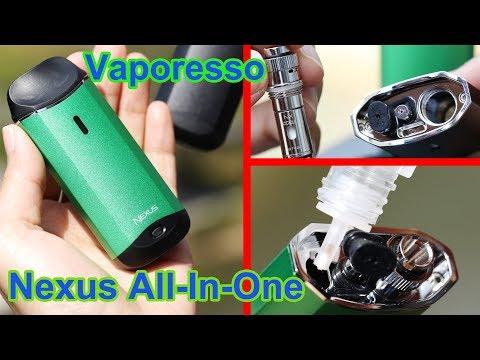 Unboxing Vaporesso Nexus Kit |Ceramic Coil Head makes better vape| Best vape of Nicotine salt ejuice