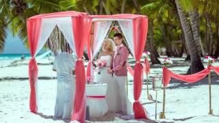 Фото слайдшоу свадьбы Маргариты и Антона в Доминикане HD