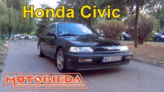 Honda Civic ED6 (4 gen) - Test na odcinie - MotoBieda