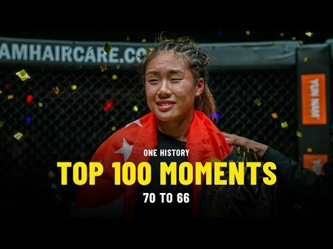 Top 100 Moments In ONE History | 70 To 66 | Ft. Angela Lee, Brandon Vera, Kevin Belingon & More