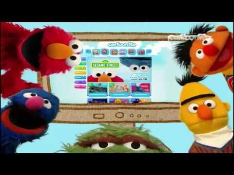Cartoonito UK Website Sesame Street Promo