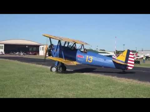 Arrivals at the Texas Antique Airplane Association's 54th Annual Fly-in