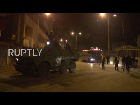 Tunisia: Tear gas flies in Tunis on 3rd day of nationwide protests