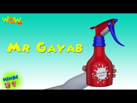 Mr Gayab - Motu Patlu in Hindi WITH ENGLISH, SPANISH & FRENCH SUBTITLES thumbnail