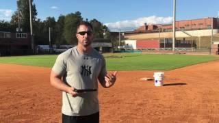 Tags At 2nd Base Drill - Good & Bad Throws