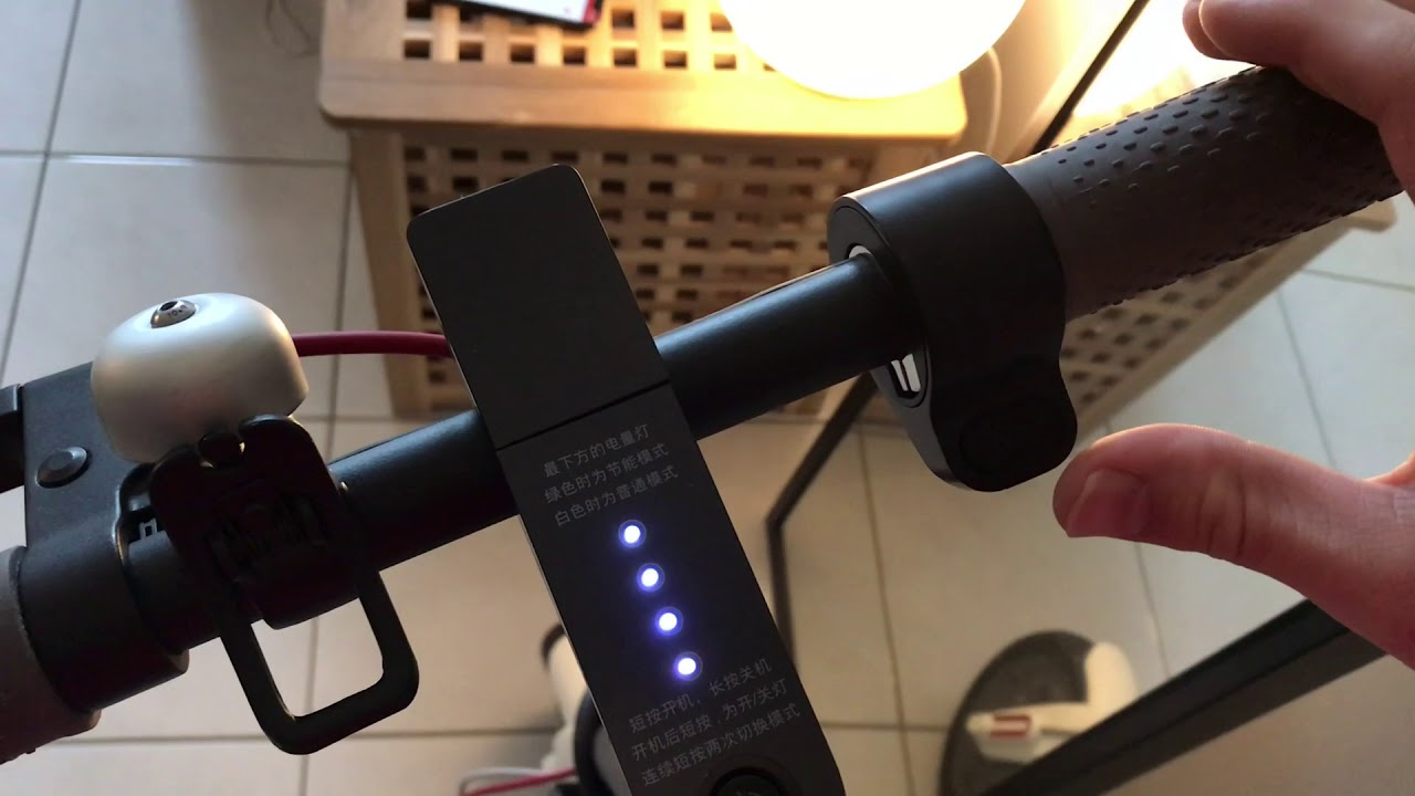 Application Trottinette Xiaomi M365