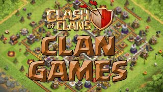 Die CLAN GAMES! ☆ Clash of Clans ☆ Update Sneak Peek