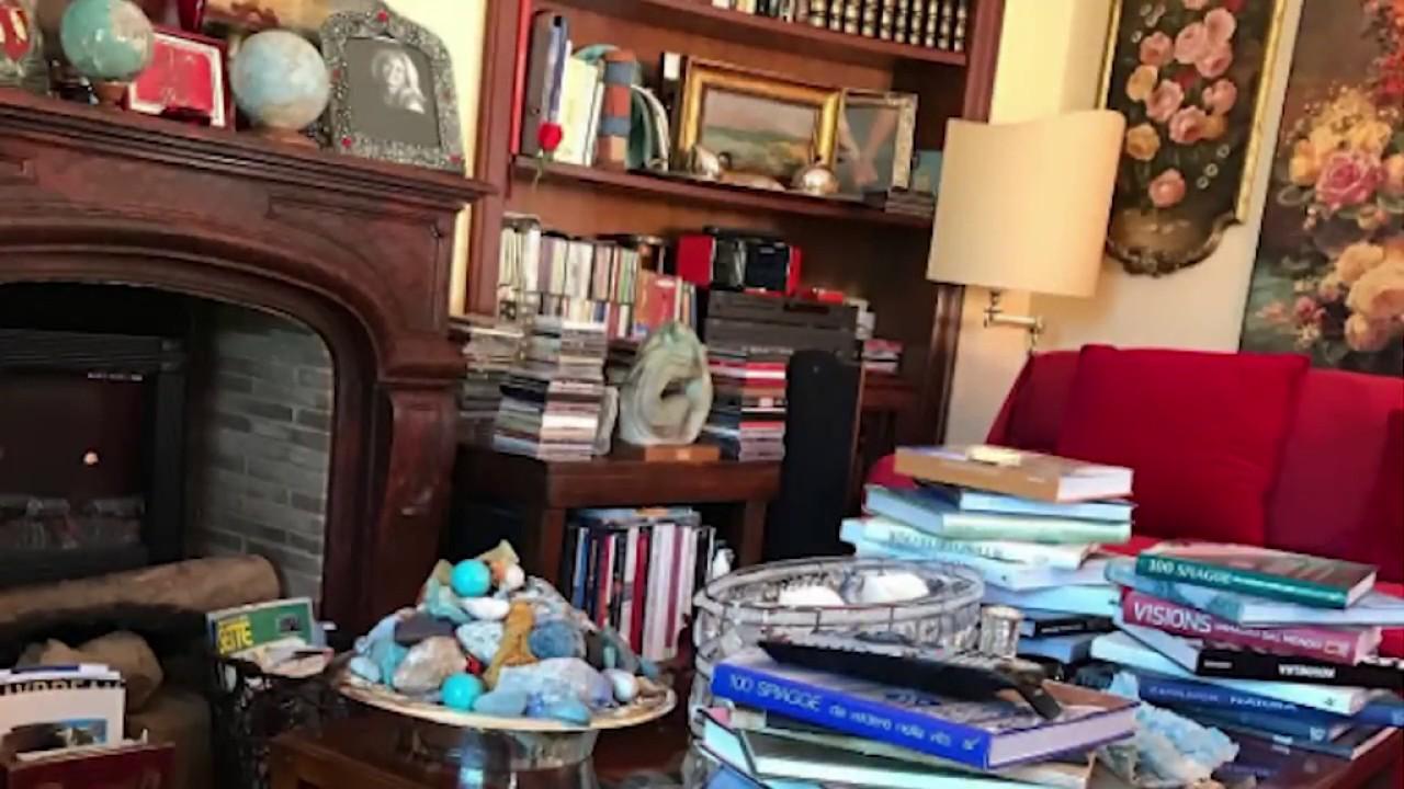 Tra libri e sculture a casa di Rita dalla Chiesa acasadi