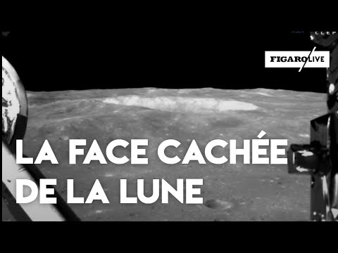 Les images de l'alunissage sur la face cachée de la lune