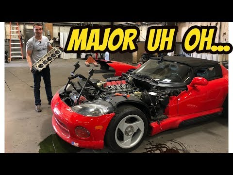 Here's Everything that's Broken on My Cheap DODGE VIPER