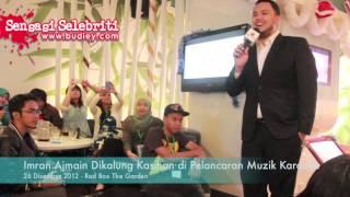 Imran Ajmain Dikalung Kasihan di Pelancaran Muzik Karaoke