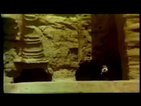 Old Footage:The Biggest Statue of Buddha in Bamyan Valley, Afghanistan & a Famous Tourist