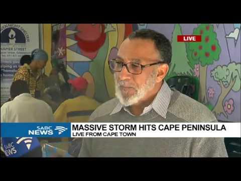 Massive storm hits Cape Peninsula