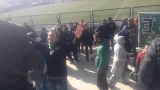 Akhisar spor taraftarı ümit dayı çay başı olayları maç sonu