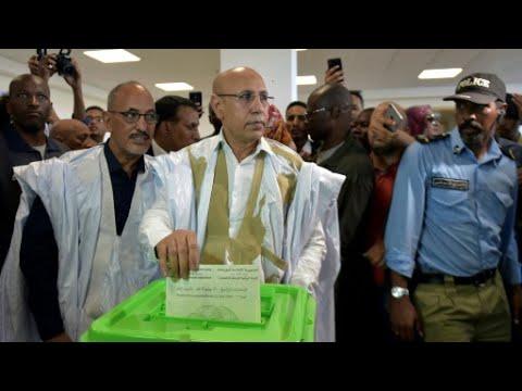 الانتخابات الموريتانية: ولد الغزواني مرشح السلطة يفوز بأكثرية 52 بالمئة من الأصوات  - نشر قبل 15 دقيقة