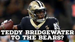 Teddy Bridgewater To The Chicago Bears?