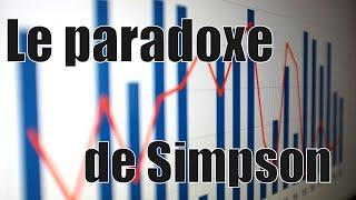 Le paradoxe de Simpson — Science étonnante #7