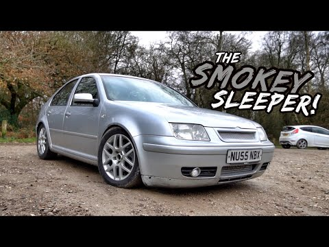 THIS 350BHP 1.9TDI VW BORA IS JUST MADNESS *SLEEPER*