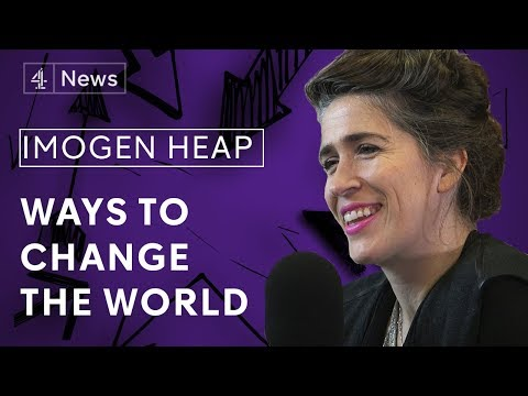 Imogen Heap On The Music Industry, Working With Taylor Swift And Blockchain