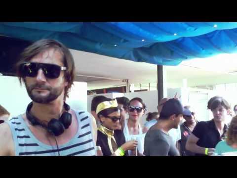 Ricardo Villalobos & Kalabrese ready made @ Streetparade 2011 - Badi Enge Zürich