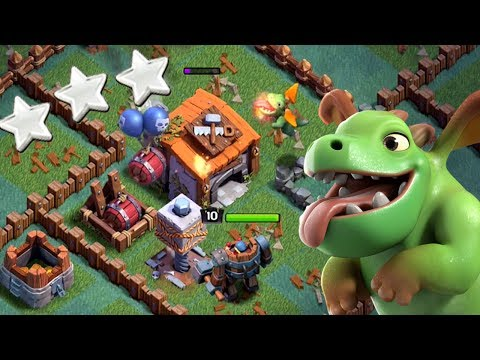 FIRST EVER 3 STAR VS BH 6 | Clash of Clans | Baby Dragons OP
