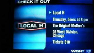 Scott Lucas on WGN Midday news acoustic 5/03/2011